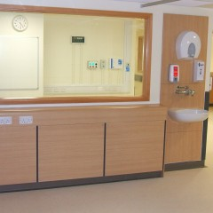 Boxing and panels for health care environments